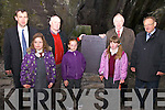 Pictured here at Valentia Slate Quarry on Monday last for the unveiling of a Slate Plaque engraved with the 1916 Proclamation were l-r; Senator Mark Daly, Rachel Houlihan, Micheal Lyne(Director Valentia Slate) Eadaoin O'Driscoll, Ella Corcoran, Minister Jimmy Deenihan & Pat O'Driscoll(Director Valentia Slate), it is hoped that one of these plaques will be erected in every school in the country for the 1916 Centenary Commemoration..