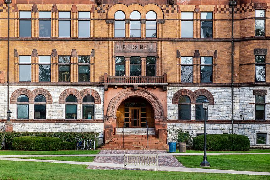 Hopkins Hall at Williams College.