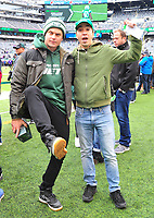Celebrities At The NY Jets Game