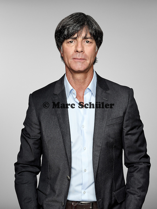 ST. MARTIN IN PASSEIER, ITALY - MAY 24:  4: In this handout image provided by German Football Association (DFB) head coach Joachim Loew of team Germany poses for a picture on May 24, 2014 in St. Martin in Passeier, Italy.  (Photo by Handout/DFB via Bongarts/Getty Images)  *** Local Caption *** Joachim Loew