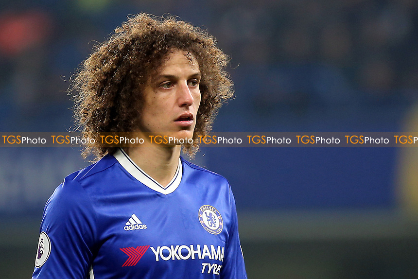 David Luiz of Chelsea during Chelsea vs Hull City, Premier League Football at Stamford Bridge on 22nd January 2017