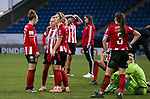 Sheffield United players look dejected after the The FA Women's Championship match at the Proact Stadium, Chesterfield. Picture date: 12th January 2020. Picture credit should read: James Wilson/Sportimage