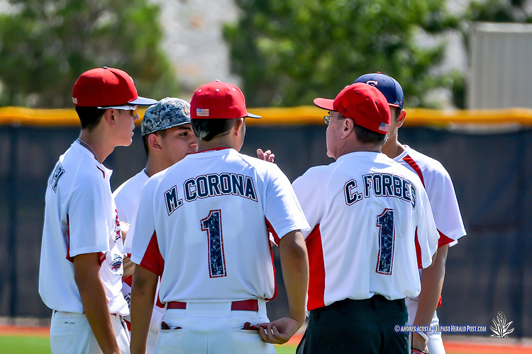 The Inagural El Paso Baseball Hall Of Fame Select Showcase Baseball Classic Game,  El Paso Community College Baseball Field, El Paso, TX August 5, 2017