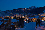 Twilight, Winter, Park City, Utah