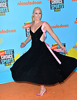 SANTA MONICA, USA. July 11, 2019: Lindsey Vonn at Nickelodeon's Kids' Choice Sports Awards 2019 at Barker Hangar.<br /> Picture: Paul Smith/Featureflash