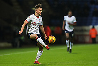 Bolton Wanderers' Pawel Olkowski crosses<br /> <br /> Photographer Andrew Kearns/CameraSport<br /> <br /> The EFL Sky Bet Championship - Bolton Wanderers v West Bromwich Albion - Monday 21st January 2019 - University of Bolton Stadium - Bolton<br /> <br /> World Copyright © 2019 CameraSport. All rights reserved. 43 Linden Ave. Countesthorpe. Leicester. England. LE8 5PG - Tel: +44 (0) 116 277 4147 - admin@camerasport.com - www.camerasport.com