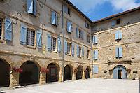 France, Aquitaine, Pyrénées-Atlantiques, Béarn, Navarrenx: L'Arsenal de Navarrenx //  France, Pyrenees Atlantiques, Bearn, Navarrenx: Navarrenx Arsenal