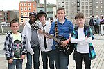 Leigh Kierans, Omo Ibiyemi, Dara Golden, Jordan Smith and Andrew Vaughey at the 2010 Beat on the Boyne...Photo NEWSFILE/Jenny Matthews.(Photo credit should read Jenny Matthews/NEWSFILE)....This Picture has been sent you under the condtions enclosed by:.Newsfile Ltd..The Studio,.Millmount Abbey,.Drogheda,.Co Meath..Ireland..Tel: +353(0)41-9871240.Fax: +353(0)41-9871260.GSM: +353(0)86-2500958.email: pictures@newsfile.ie.www.newsfile.ie.FTP: 193.120.102.198.