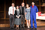 "Jorge Basanta, Julieta Serrano, the director Cesar Oliva, Natalia Sanchez and Miguel Rellan during the theater play of ""Ninette y un señor de Murcia"" at the Fernan Gomez Theater in Madrid, January 13, 2016. <br /> (ALTERPHOTOS/BorjaB.Hojas)"