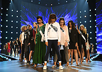 BANGKOK, THAILAND - DECEMBER 14: 2018 MISS UNIVERSE: Contestants during rehearsals for the 2018 MISS UNIVERSE competition at the Impact Arena in Bangkok, Thailand on December 14, 2018. Miss Universe will air live on Sunday, Dec. 16 (7:00-10:00 PM ET live/PT tape-delayed) on FOX.  (Photo by Frank Micelotta/FOX/PictureGroup)