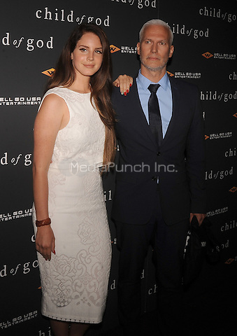 New York,NY-JULY 30: Lana Del Rey, Klaus Biesenbach attends the 'Child Of God' premiere at Tribeca Grand Hotel in New York on July 30, 2014 . Credit: John Palmer/MediaPunch