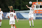 05 November 2008: Florida State's Tori Huster (9). Virginia Tech and Florida State University played to a 0-0 tie after two overtimes at Koka Booth Stadium at WakeMed Soccer Park in Cary, NC in a women's ACC tournament quarterfinal game.  Virginia Tech advanced to the semifinal round in penalty kicks, 4-2.