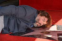 LOS ANGELES, CA. September 18, 2018: Jack Black at the Hollywood Walk of Fame Star Ceremony honoring actor Jack Black.