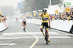 Christopher Froome (GBR) Team Sky wins the 2017 Tour de France Skoda Shanghai Criterium, Shanghai, China. 29th October 2017.<br /> Picture: ASO/Pauline Ballet | Cyclefile<br /> <br /> <br /> All photos usage must carry mandatory copyright credit (&copy; Cyclefile | ASO/Pauline Ballet)