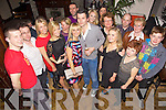 Surprise - Nathan McDonnell from Ballyseedey Home & Outdoor Living, standing centre having a ball with family and friends at his surprise 30th birthday party held in The Station House, Blennerville on Saturday night............................................................................................................................................................................................................................................................................................................................................................................................................................................................................................................................................................................................................ ........................