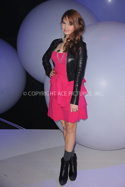 WWW.ACEPIXS.COM . . . . . .March 16, 2011...New York City...Debby Ryan attends Disney Kids and Family Upfront on March 16, 2011 in New York City....Please byline: KRISTIN CALLAHAN - ACEPIXS.COM.. . . . . . ..Ace Pictures, Inc: ..tel: (212) 243 8787 or (646) 769 0430..e-mail: info@acepixs.com..web: http://www.acepixs.com .