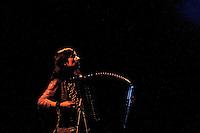 Portuguese accordionist Carisa Marcelino in concert in Teatro Fernan Gomez in Madrid.November 3,2012. (ALTERPHOTOS/Acero) /NortePhoto