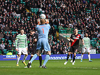 Craig Samson saves in the Celtic v St Mirren Clydesdale Bank Scottish Premier League match played at Celtic Park, Glasgow on 15.12.12.