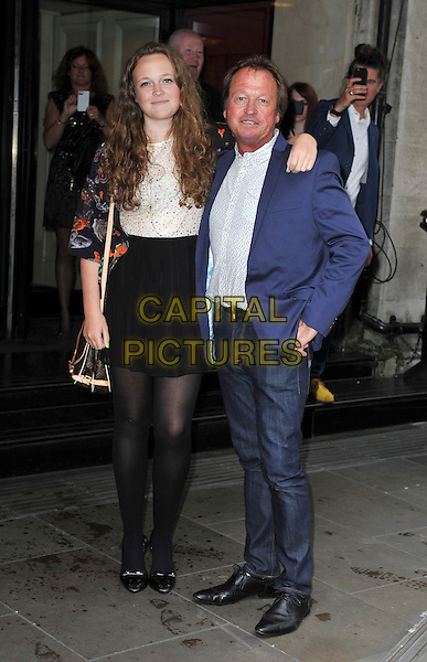 LONDON, ENGLAND - MAY 22: Marlee King &amp;  Mark King attends the Ivor Novello Awards at The Grosvenor House Hotel on May 22, 2014 in London, England.<br /> CAP/PP/GM<br /> &copy;Gary Mitchell/PP/Capital Pictures