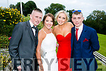 Enjoying the Colaiste na Sceilge Debutante Ball at Ballyroe Heights Hotel on Tuesday were l-r  Kieran O'Donoghue, Casey Donnelly, Emer Kerin and Denis Sugrue