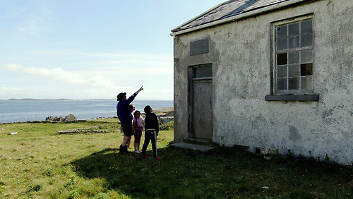 Turbot Island in Connemara, Ireland