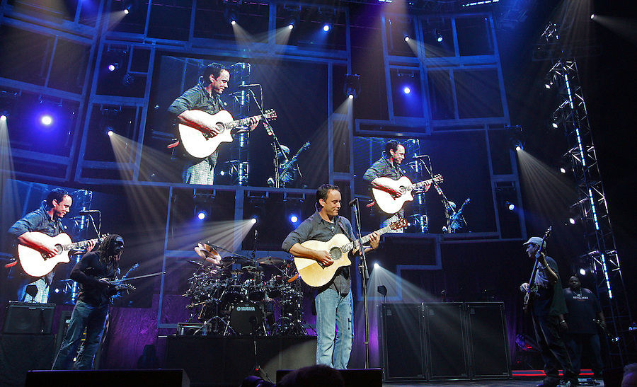 Dave Matthews performing at the JPJ in Charlottesville, Va. Credit Image: © Andrew Shurtleff