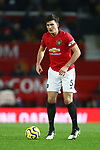 Harry Maguire of Manchester United during the Premier League match at Old Trafford, Manchester. Picture date: 1st December 2019. Picture credit should read: Phil Oldham/Sportimage