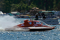 "Tom Bergman, A-8  and Alexis Weber, A-7 ""Southern Magic""  (2.5 MOD class hydroplane(s)"