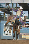 Cody Taton from Corona, New Mexico during the Reno Rodeo on Monday, June 25, 2013 in Reno, Nevada.<br /> (Photo by Kevin Clifford)
