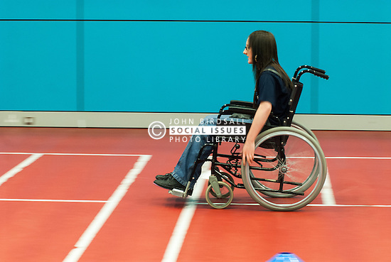 Wheelchair sports in secondary school UK
