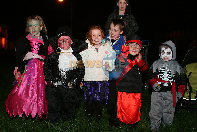 Caitlin Foran, Evan Foran, Susan Maguire, Jake Kenna, Jake Maguire and Ross Walsh at the Bonfire Rathmullen/Ballsgrove...Photo NEWSFILE/Jenny Matthews.(Photo credit should read Jenny Matthews/NEWSFILE)....This Picture has been sent you under the condtions enclosed by:.Newsfile Ltd..The Studio,.Millmount Abbey,.Drogheda,.Co Meath..Ireland..Tel: +353(0)41-9871240.Fax: +353(0)41-9871260.GSM: +353(0)86-2500958.email: pictures@newsfile.ie.www.newsfile.ie.FTP: 193.120.102.198.