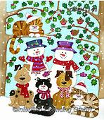 Kate, CHRISTMAS SANTA, SNOWMAN, WEIHNACHTSMÄNNER, SCHNEEMÄNNER, PAPÁ NOEL, MUÑECOS DE NIEVE, paintings+++++Christmas page 27,GBKM141,#x#