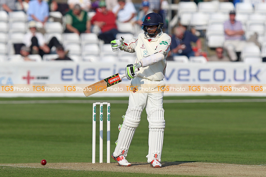 Haseeb Hameed of Lancashire is struck by a Neil Wagner delivery during Essex CCC vs Lancashire CCC, Specsavers County Championship Division 1 Cricket at The Cloudfm County Ground on 8th April 2017