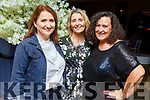 Mary Claire Crosby (Doon Tralee), Sarah Quirke (Tralee) and Suzanne Murphy (Ardfert) attending the Daily Diva and Stuart's Select Style Autumn/Winter Fashion Fix  show in aid of Recovery Haven Kerry in the Ballygarry House Hotel on Saturday night.
