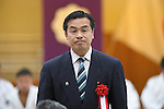 Hiroshi Hase, <br /> JULY 27, 2016 - Judo : <br /> Japan national team Send-off Party for Rio Olympic Games 2016 <br /> &amp; Paralympic Games <br /> at Kodokan, Tokyo, Japan. <br /> (Photo by AFLO SPORT)