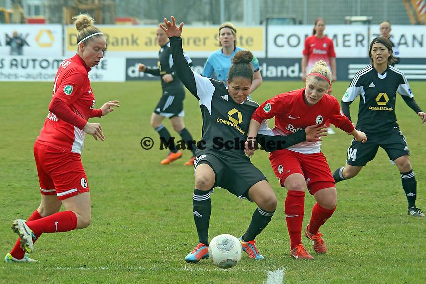 Celia Sasic (FFC) gegen Jenista Clark (Freiburg) - 1. FFC Frankfurt vs. SC Freiburg