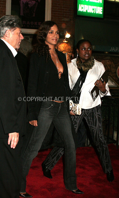WWW.ACEPIXS.COM . . . . .  ....November 14, 2006, New York City.....Halle Berry and Gabriel Aubry attend an Exclusive Tasting of Hennessy Cognac at Cafe Fuego. ....Please byline: NANCY RIVERA- ACE PICTURES.... *** ***..Ace Pictures, Inc:  ..Philip Vaughan (212) 243-8787 or (646) 769 0430..e-mail: info@acepixs.com..web: http://www.acepixs.com
