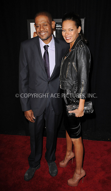 WWW.ACEPIXS.COM . . . . . ....March 9 2010, New York City....Actor Forest Whitaker and Keisha Whitaker arriving at the premiere of 'Our Family Wedding' at AMC Loews Lincoln Square theater on March 9, 2010 in New York City....Please byline: KRISTIN CALLAHAN - ACEPIXS.COM.. . . . . . ..Ace Pictures, Inc:  ..tel: (212) 243 8787 or (646) 769 0430..e-mail: info@acepixs.com..web: http://www.acepixs.com