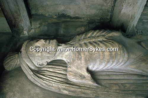 Tomb of Sir John Golafre Church of St Nicholas Fyfield Oxfordshire England