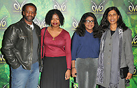 Adrian Lester, Lolita Chakrabarti at the OVO by Cirque du Soleil press night, Royal Albert Hall, Kensington Gore, London, England, UK, on Wednesday 10 January 2018.<br /> CAP/CAN<br /> &copy;CAN/Capital Pictures