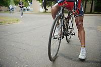 the (super)tanned legs of Philippe Gilbert (BEL/BMC)<br /> <br /> Ster ZLM Tour<br /> stage 3: Buchten-Buchten (190km)