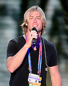 Beau Davidson rehearses for his performance at the 2012 Republican National Convention in Tampa Bay, Florida on Monday, August 27, 2012.  .Credit: Ron Sachs / CNP.(RESTRICTION: NO New York or New Jersey Newspapers or newspapers within a 75 mile radius of New York City)