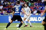Chelsea Midfielder Cesc Fabregas (C) in action during the International Champions Cup 2017 match between FC Internazionale and Chelsea FC on July 29, 2017 in Singapore. Photo by Marcio Rodrigo Machado / Power Sport Images