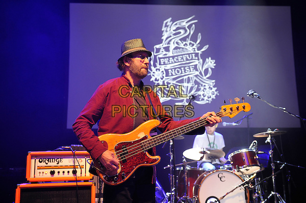 LONDON, ENGLAND - NOVEMBER 15: Dave Peacock of 'Chas &amp; Dave' performing at 'A Peaceful Noise', Bataclan Memorial Concert at Shepherd's Bush Empire on November 15, 2016 in London, England.<br /> CAP/MAR<br /> &copy;MAR/Capital Pictures