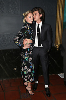 LOS ANGELES, CA - NOVEMBER 17: Maika Monroe, Joe Keery, at the Tribes Of Palos Verdes Premiere at The Ace Hotel Theater in Los Angeles, California on November 17, 2107. Credit: Faye Sadou/MediaPunch /NortePhoto.com