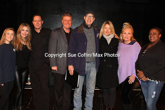 Breathing Under Dirt - A New Play by Guiding Light's Michael O'Leary and directed by Larry Moss with an industry reading on January 24, 2017 at Cherry Lane Theater, New York City, New York. Starring Alana Troxell, Katie Branden, Robert Bogue, Michael O'Leary, Larry Moss, Cynthia Watros, Tina Sloan and Kisha Jackson. (Photo by Sue Coflin/Max Photos)
