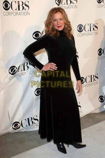 ELIZABETH PERKINS.CBS, Paramount, UPN, Showtime, and King World 2006 TCA Winter Press Tour Party - Arrivals held at the Wind Tunnel, Pasadena, California..January 18th, 2006.Photo: Zach Lipp/AdMedia/Capital Pictures.Ref: ZL/ADM.full length hand on hip black dress.www.capitalpictures.com.sales@capitalpictures.com.© Capital Pictures.