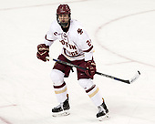 Scott Savage (BC - 2) - The Boston College Eagles defeated the University of Vermont Catamounts 7-4 on Saturday, March 11, 2017, at Kelley Rink to sweep their Hockey East quarterfinal series.The Boston College Eagles defeated the University of Vermont Catamounts 7-4 on Saturday, March 11, 2017, at Kelley Rink to sweep their Hockey East quarterfinal series.