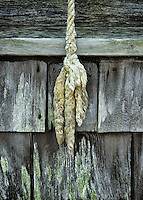 Rope and shingles.