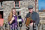 A Tradition Irish homecoming is being held at Molly Gallivans cottage in Bonane next week to raise funds for Kerry cancer service. .Musician Anita Heffernan and Stephen O'Sullivan announcing the event last week.